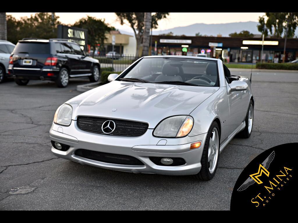 2002 Mercedes-Benz SLK SLK320 AMG Sport