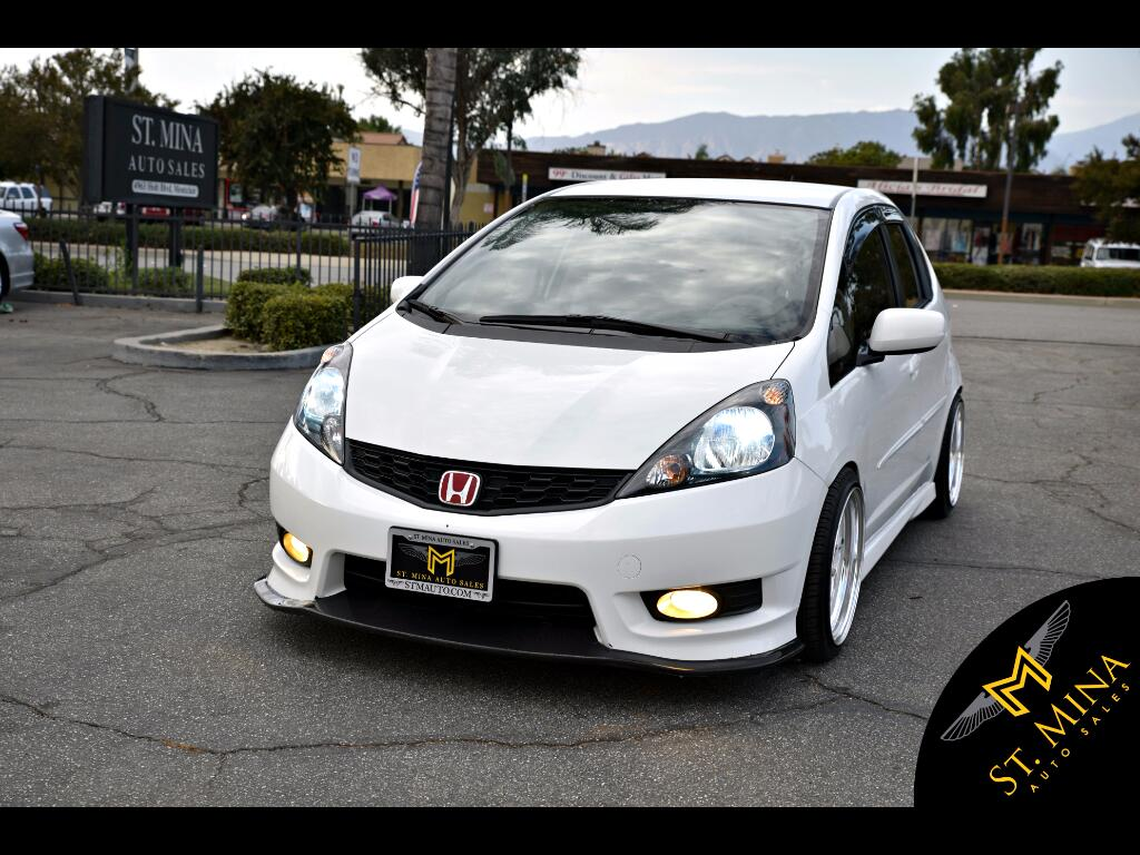 2013 Honda Fit Sport With Navigation