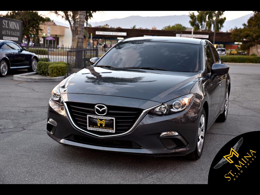 2016 Mazda MAZDA3 i Sport MT 4-Door