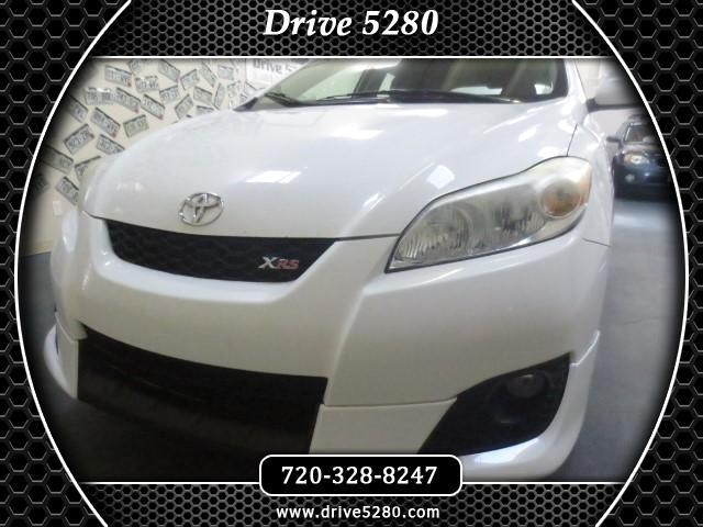 2009 Toyota Matrix XRS 5-Speed MT
