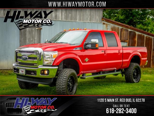 2015 Ford F-250 SD Lariat Crew Cab Short Bed 4WD