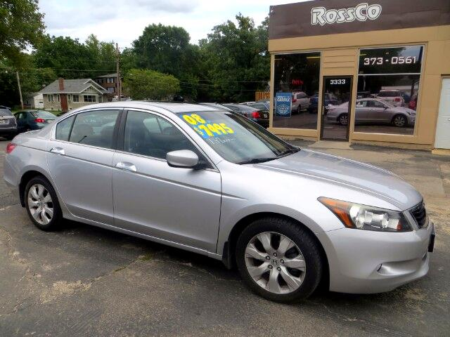 2008 Honda Accord EX Sedan AT w/ Leather and XM Radio