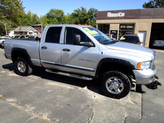 2004 Dodge Ram 2500 SLT Quad Cab Short Bed 4WD