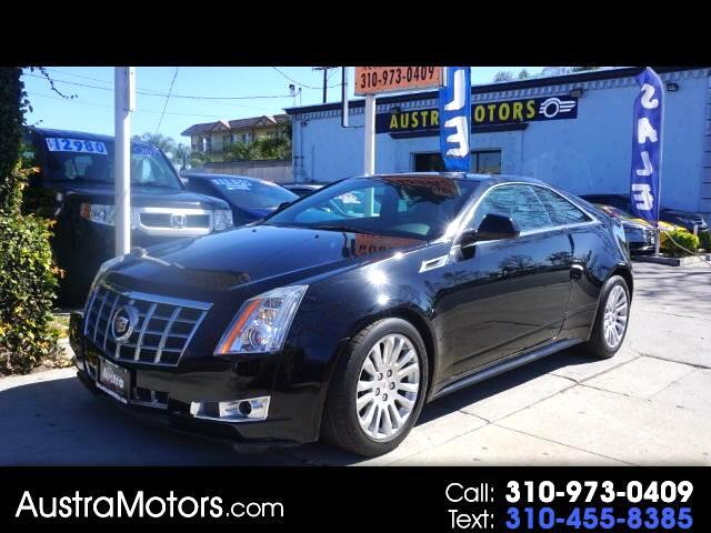 2013 Cadillac CTS Performance Coupe w/ Navigation