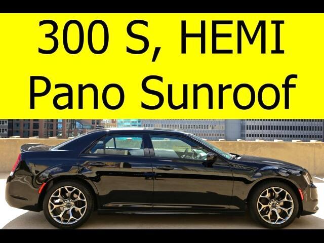 2015 Chrysler 300 S HEMI PANO ROOF HEATED SEATS