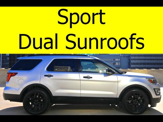 2016 Ford Explorer Sport AWD DUAL SUNROOFS HEATED SEATS