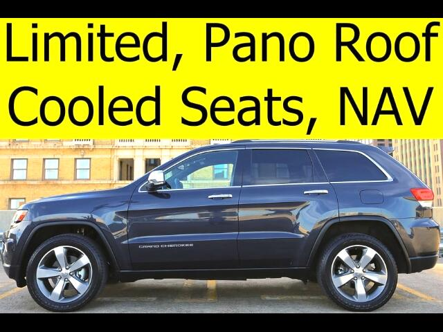 2014 Jeep Grand Cherokee Limited Pano Roof COOLED SEATS