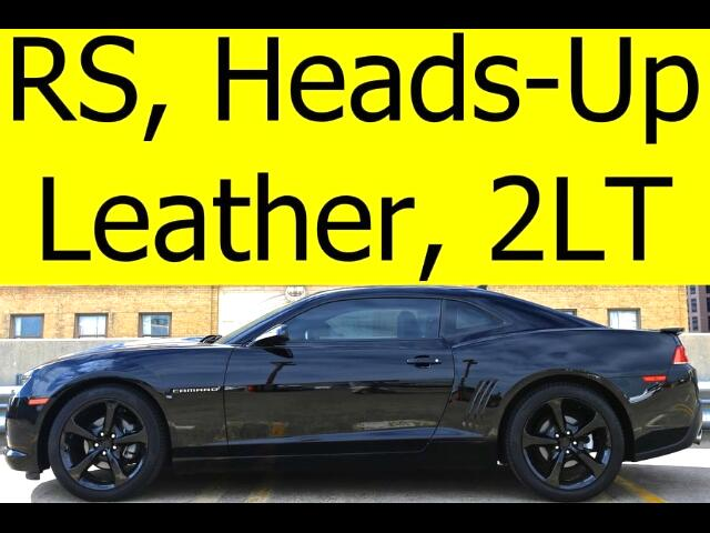 2014 Chevrolet Camaro Coupe 2LT LEATHER SUNROOF HEADS UP