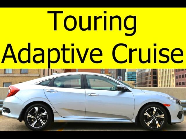 2016 Honda Civic Touring Sedan with Leather, Sunroof, Navigation, A