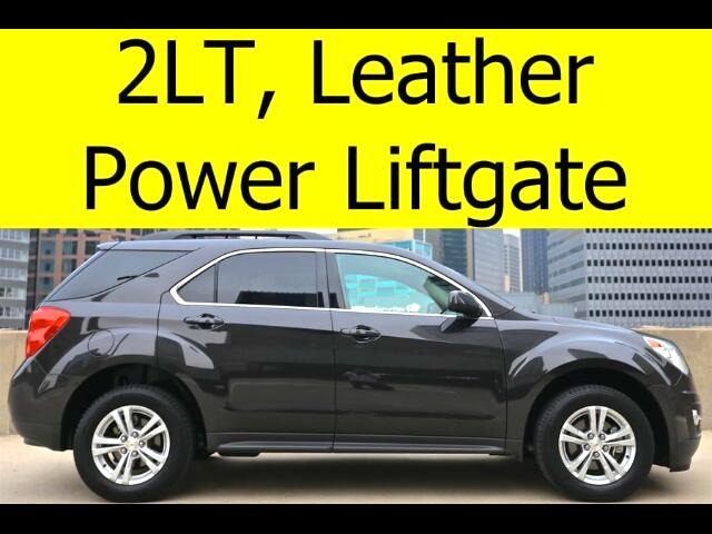 2014 Chevrolet Equinox 2LT HEATED SEATS LEATHER BACKUP CAMERA