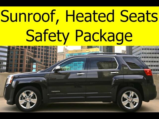 2014 GMC Terrain SUNROOF SAFETY PACKAGE