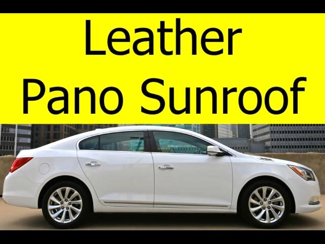 2016 Buick LaCrosse LEATHER PANO ROOF HEATED SEATS BLUETOOTH