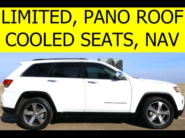 2014 Jeep Grand Cherokee LIMITED PANO ROOF COOLED SEATS NAVIGATION