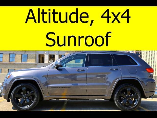 2014 Jeep Grand Cherokee 4x4 ALTITUDE SUNROOF HEATED SEATS