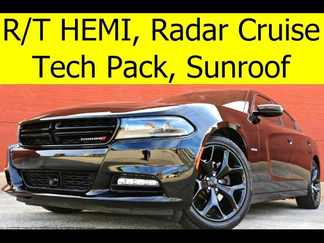 2015 Dodge Charger R/T PLUS LEATHER SUNROOF RADAR CRUISE TECH PACK CO