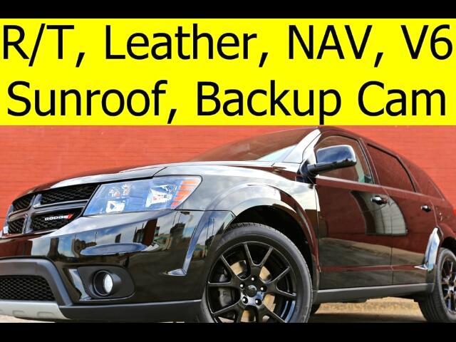 2016 Dodge Journey R/T LEATHER SUNROOF ALPINE SOUND SYSTEM NAVIGATION