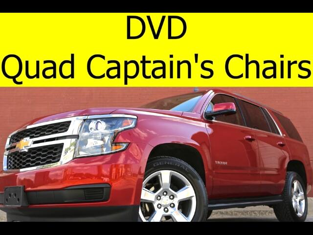2015 Chevrolet Tahoe LT DVD QUAD CHAIRS BOSE SOUND POWER LIFTGATE