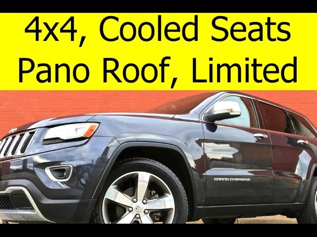 2014 Jeep Grand Cherokee 4x4 LIMITED PANO ROOF COOLED SEATS NAVIGATION
