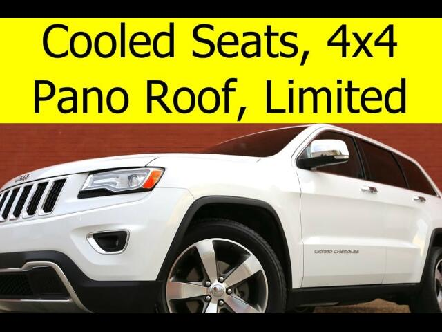 2015 Jeep Grand Cherokee 4x4 Limited PANO ROOF COOLED SEATS NAVIGATION