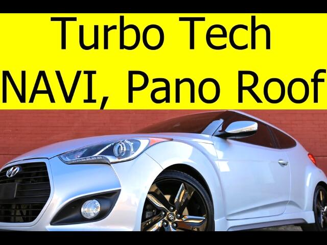 2015 Hyundai Veloster Turbo with Tech Pack Pano Roof Navigation Dimensio