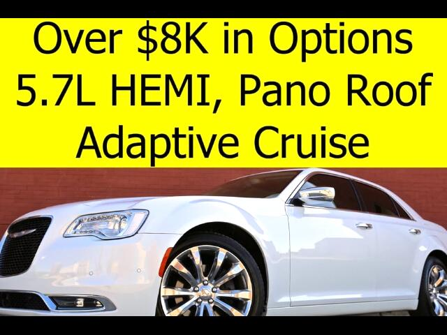 2015 Chrysler 300 C with PANO ROOF COOLED SEATS RADAR CRUISE CONTROL