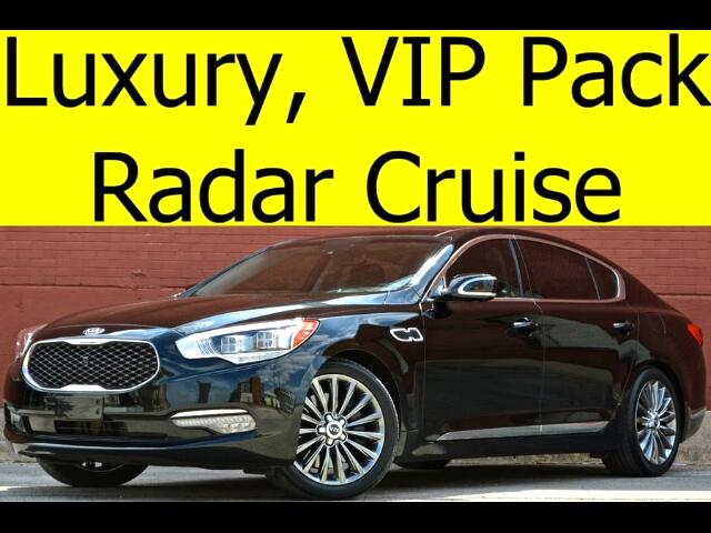 2015 Kia K900 V8 Luxury with VIP Package Radar Cruise Rear Coole