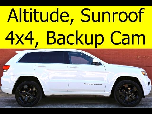 2015 Jeep Grand Cherokee 4x4 Altitude Sunroof Backup Camera Tow Package
