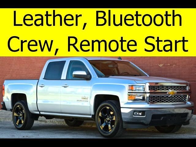 2014 Chevrolet Silverado 1500 CREW CAB LEATHER HEATED SEATS