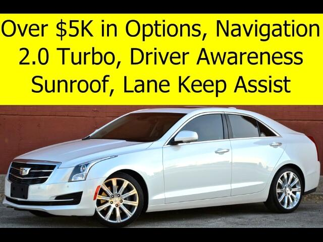 2015 Cadillac ATS 2.0L TURBO LUXURY NAVIGATION AWARENESS PACKAGE