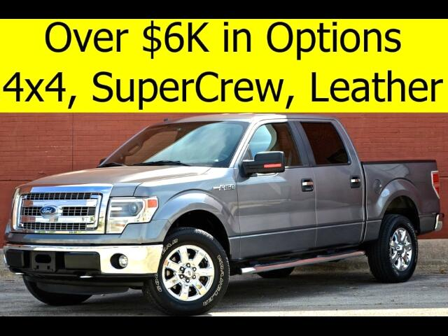 2014 Ford F-150 4x4 SuperCrew LEATHER