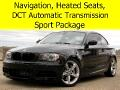 2011 BMW 1-Series Turbo with Sport Package, DCT Automatic Transmissi