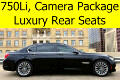 2011 BMW 7-Series 750Li Luxury Seating Front and Rear