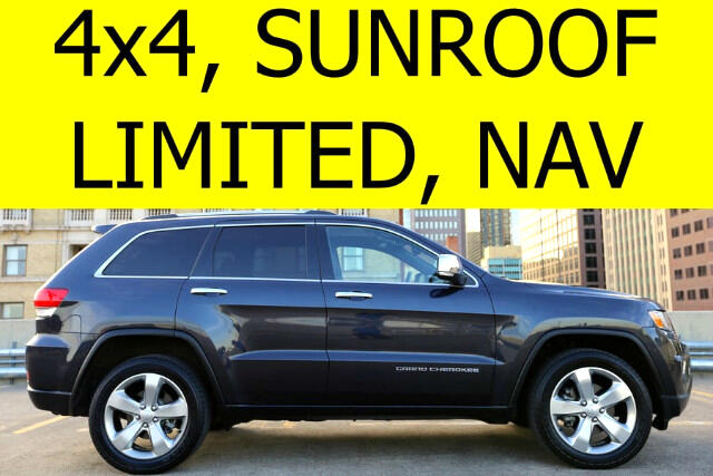 2014 Jeep Grand Cherokee Limited 4WD SUNROOF