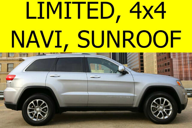 2014 Jeep Grand Cherokee Limited 4WD SUNROOF NAVIGATION