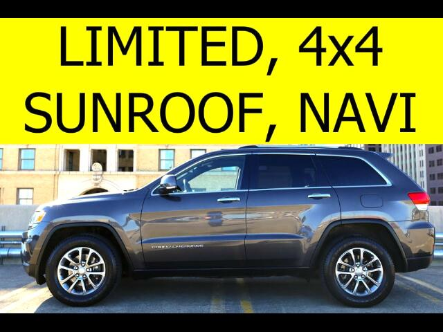 2014 Jeep Grand Cherokee 4WD Limited with Sunroof