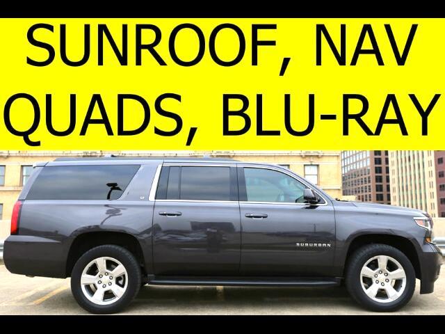 2015 Chevrolet Suburban LT QUADS DVDS BOSE SOUND DRIVER ALERT