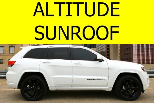 2014 Jeep Grand Cherokee Altitude Edition with Sunroof