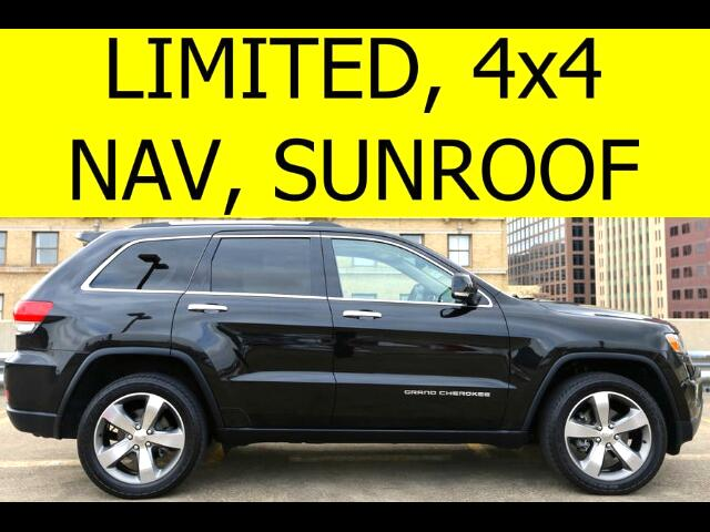 2014 Jeep Grand Cherokee Limited 4WD SUNROOF NAVIGATION HEATED SEATS