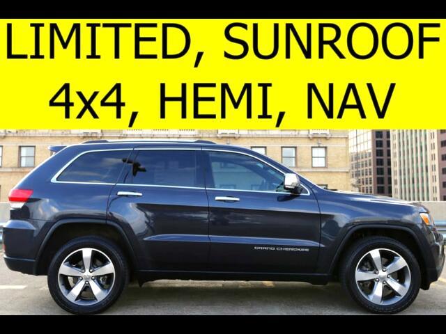 2014 Jeep Grand Cherokee 4WD Limited Sunroof HEMI Navigation
