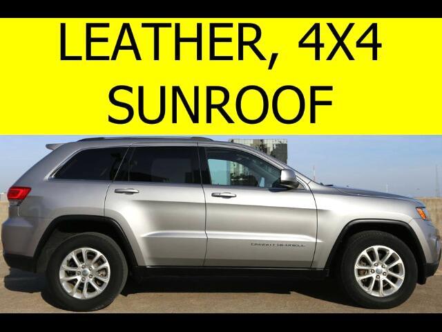 2014 Jeep Grand Cherokee 4WD LEATHER SUNROOF HEATED SEATS