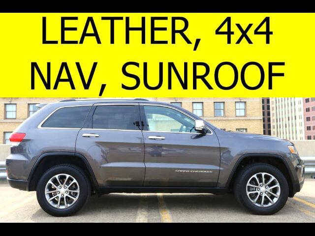 2014 Jeep Grand Cherokee 4WD SUNROOF NAVIGATION