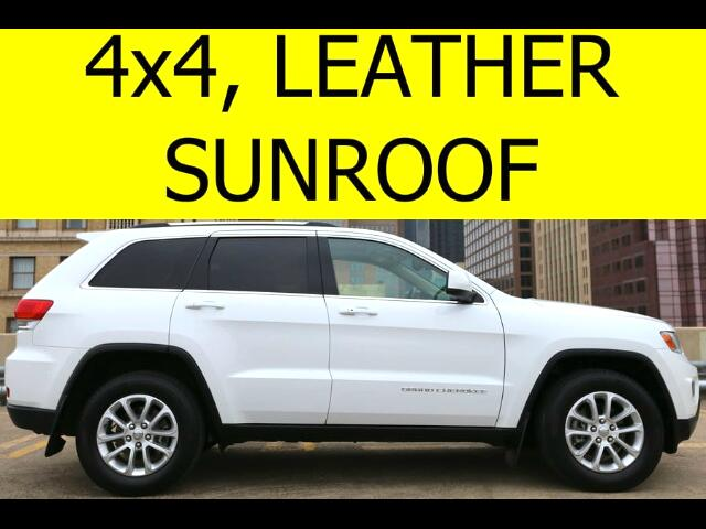 2014 Jeep Grand Cherokee 4WD with Leather, Sunroof