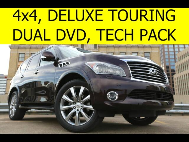 2014 Infiniti QX80 4WD Theater Package, Tech Package, Deluxe Touring