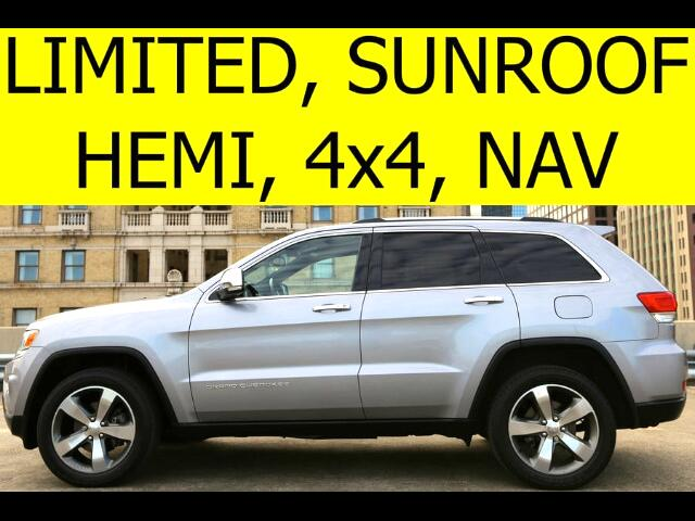 2014 Jeep Grand Cherokee LIMITED HEMI 4WD