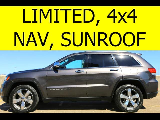 2014 Jeep Grand Cherokee Limited 4WD SUNROOF TOW PACKAGE