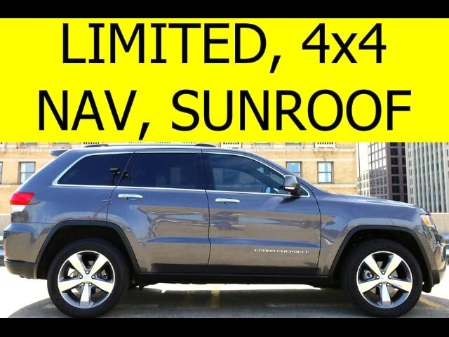 2014 Jeep Grand Cherokee LIMITED  SUNROOF 4WD