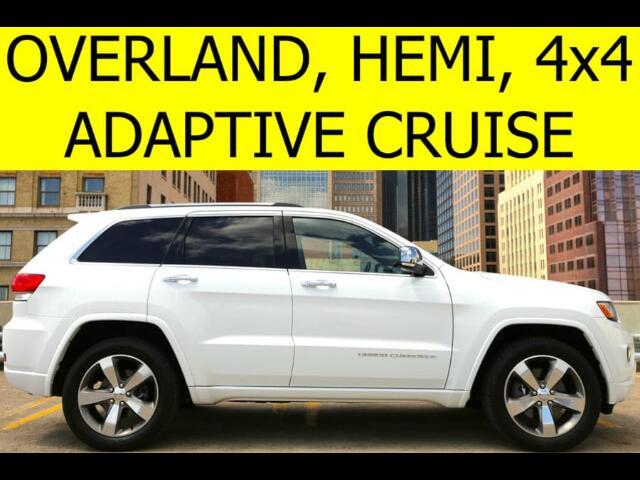 2014 Jeep Grand Cherokee 4WD Overland HEMI TECH PACKAGE
