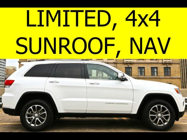 2014 Jeep Grand Cherokee 4WD Limited SUNROOF NAVIGATION