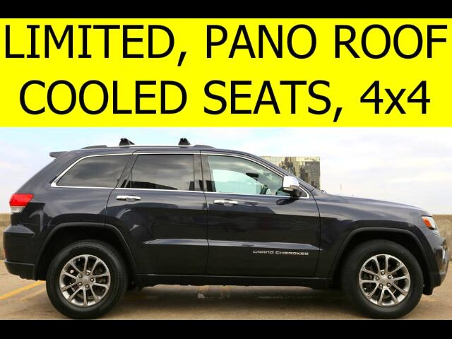 2014 Jeep Grand Cherokee LIMITED PANO ROOF COOLED SEATS 4WD