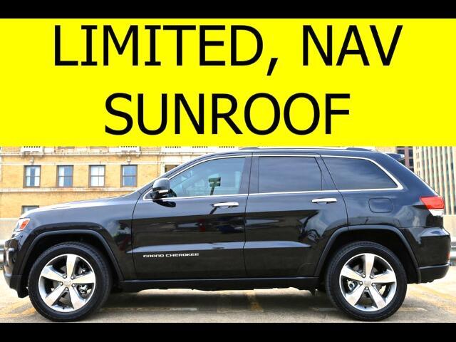 2014 Jeep Grand Cherokee LIMITED NAVIGATION SUNROOF